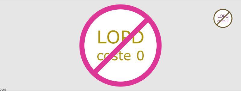LOPD COSTE 0 ilegal