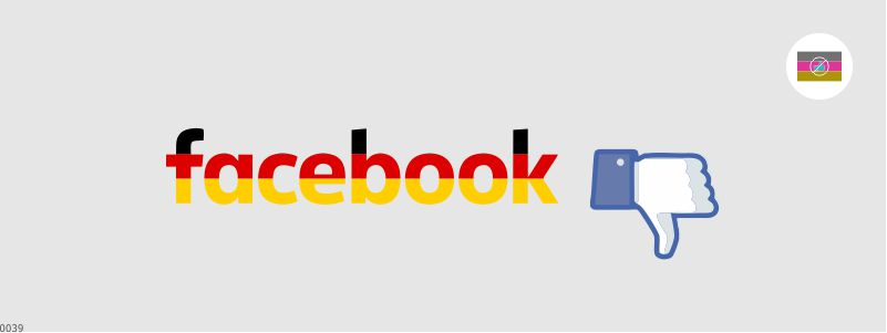 Me gusta Facebook ilegal en Alemania