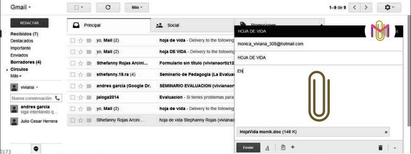 adjuntos gmail