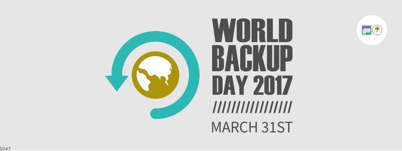 día mundial de la copia de seguridad