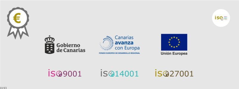 canarias subvencion implantacion iso 9001 14001 27001