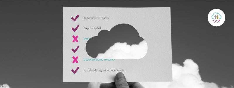 consideraciones copia seguridad en la nube